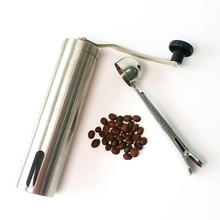 Low moq Stainless Steel hand burr Coffee Grinder