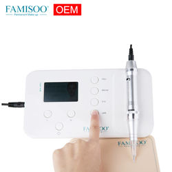 FAMISOO N6 OEM Permanent Makeup MTS + PMU Digital Machine Portable Tattoo Machine Device for eyebrow