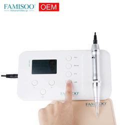 FAMISOO N6 OEM Permanent Makeup MTS + PMU Digital Machine Portable Tattoo Machine Device for eyebrow