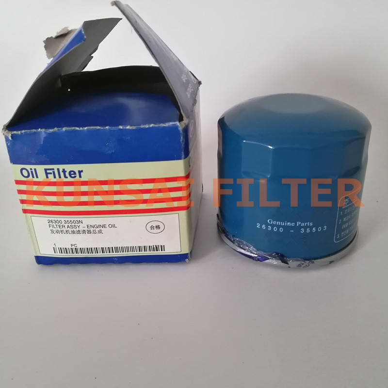 Wholesale oil filter 26300-35503