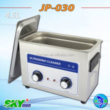 180W high frequency cleaner ultrasonic false teeth cleaning with mechanical timer