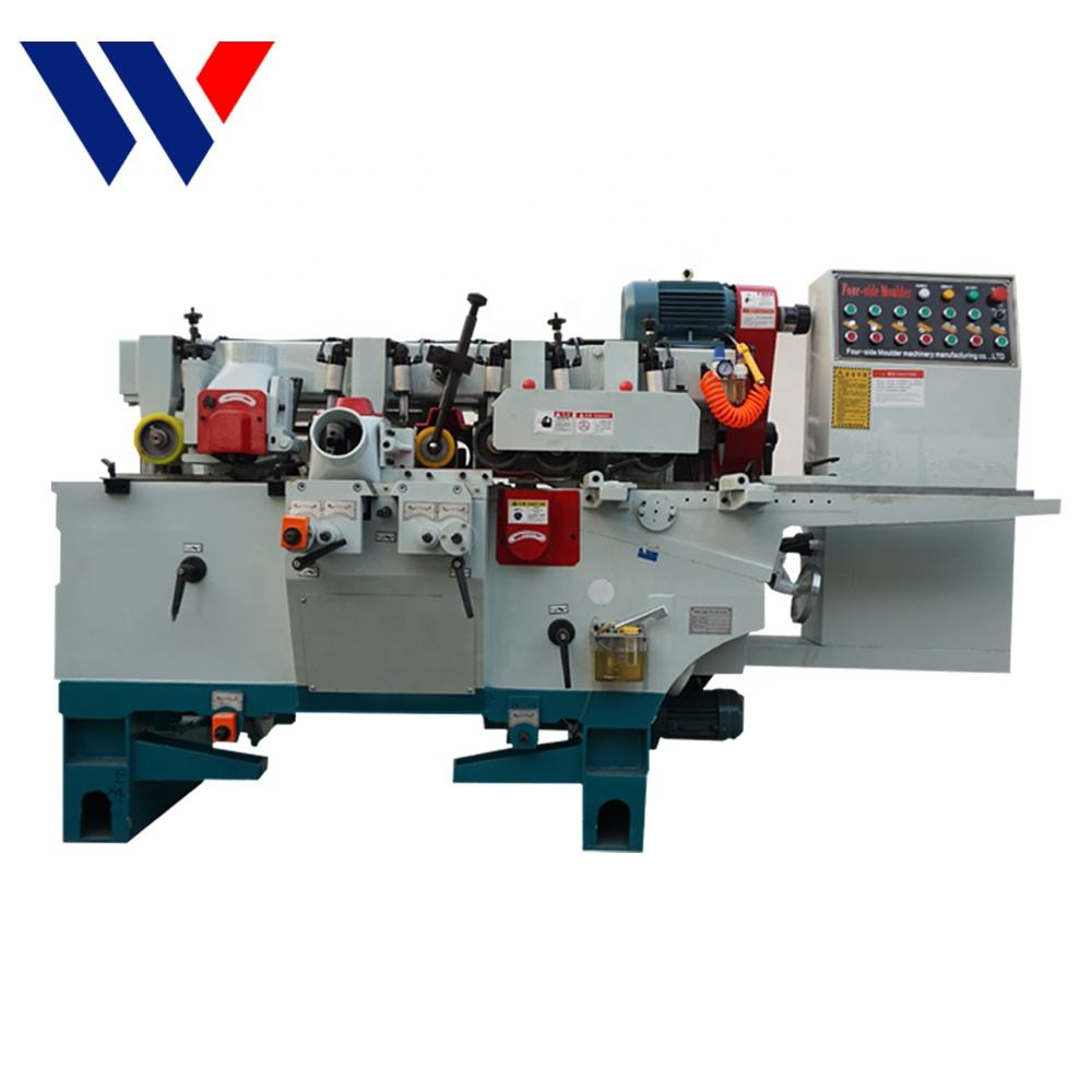 Combination Jointer Woodworking Machine 4 Four 2 Double Two Side Single Surface Wood Planer For Sale