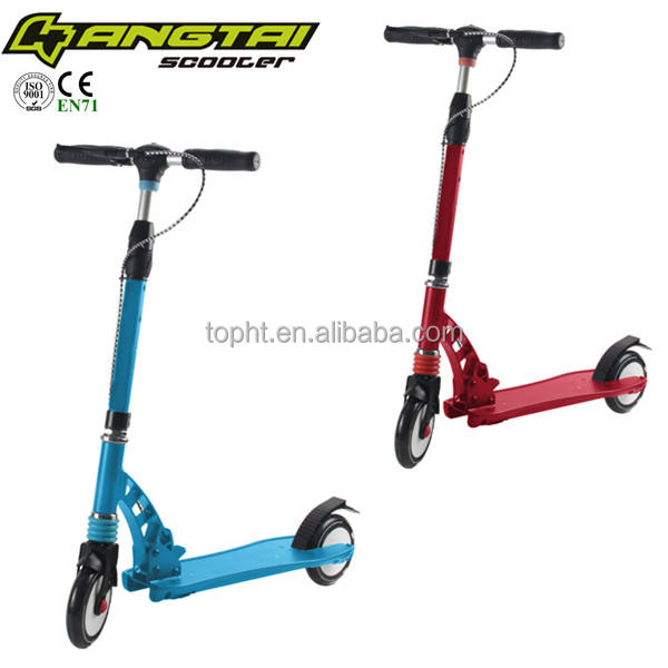 Doppia sospensione <span class=keywords><strong>scooter</strong></span> <span class=keywords><strong>calcio</strong></span> pieghevole 145mm flash