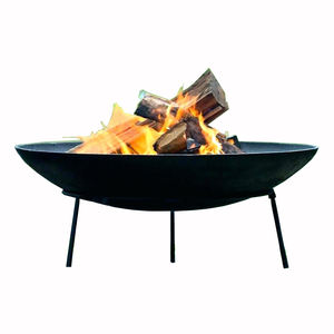 Deep drawing and iron steel metal house fire pit bowl