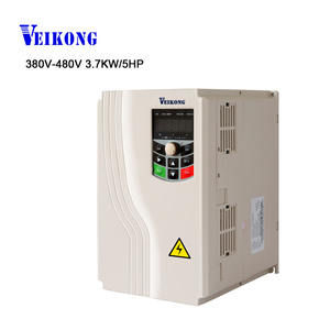 380 v 400 v 440 v 480 v 3.7kw 5hp 50-60 hz inverter VFD
