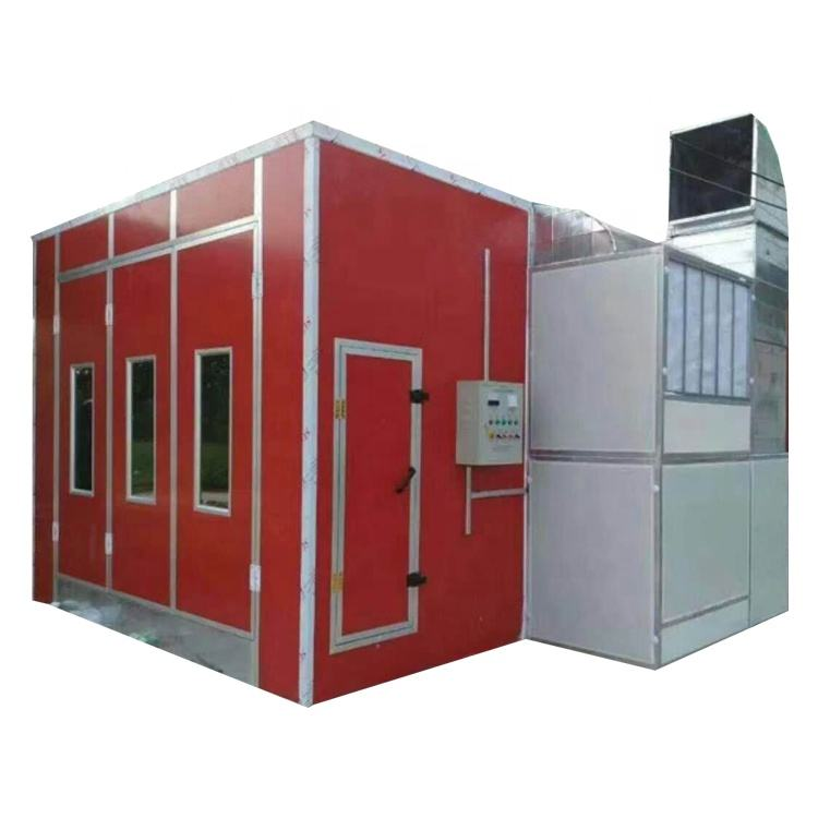 High-efficient diesel engine car bus truck spray booth
