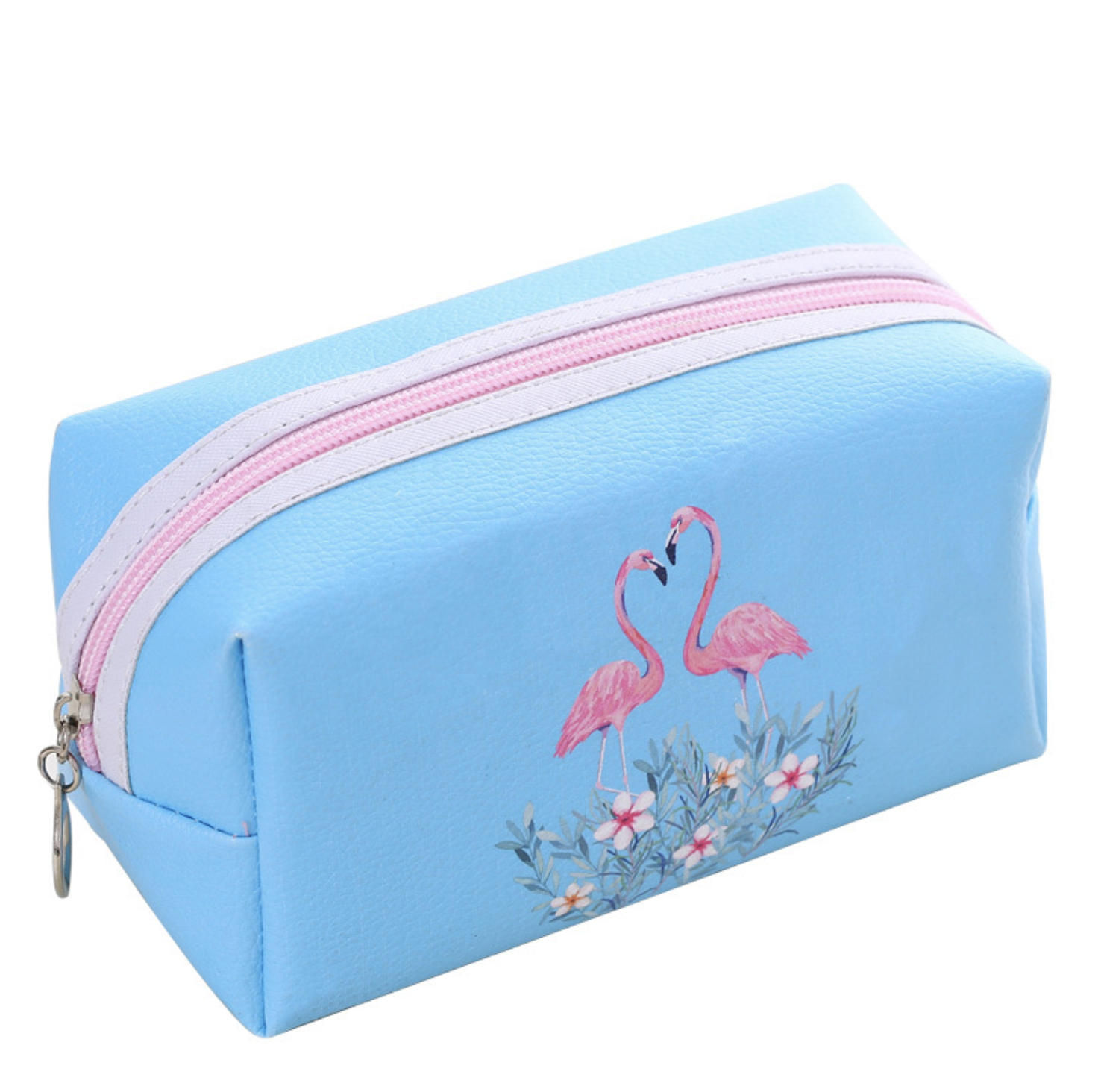 waterproof travel padded cosmetic bag with zipper