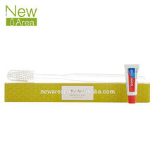 highly ranked new product wholesale hotel dental kit toothbrush with toothpaste