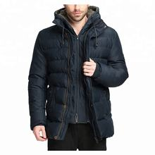Winter Coat Thicken Parkas With Removable Hood Coats Men