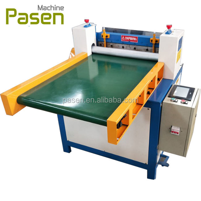 Best selling Leather strip cutting machine / Rubber stripping machine / Rubber sheet cutter