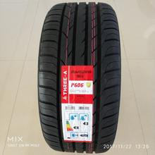 Best China tyre Brand list Top 10 Three-a Yatone Aoteli PCR Run flat tire Car Tyres New P606 P308 P607 size 205/40ZR17
