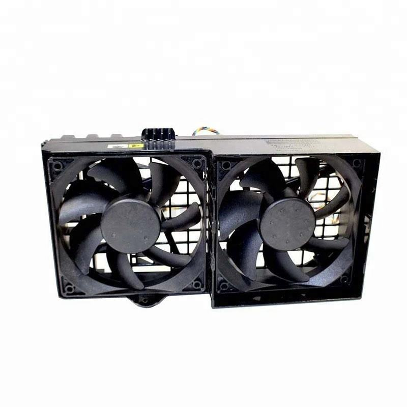 Dell Precision T3500 T5500 Workstation Dual Cooling Fan Assembly CN-0HW856