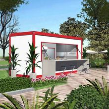 20ft best outdoor portable shop mobile container cafe or food bar