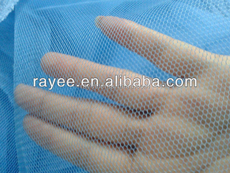 UV Resistant Polyester mosquito net fabric Car Sunshade, used for making PVC banners,waterproof fabric for umbrellatela de malla