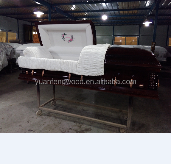 FEMALE ESTHER CHERRY coffin funeral supplies colors of casket coffin