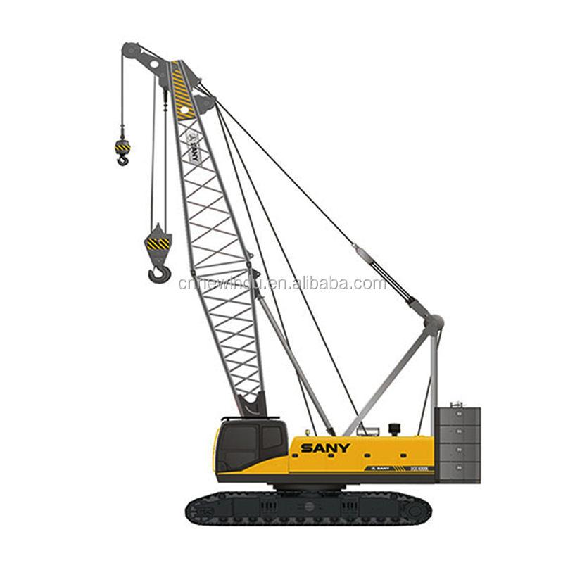 SANY Guindaste de 55 Toneladas de Lagartas SCC550TB all terrain empilhadeira com cesta