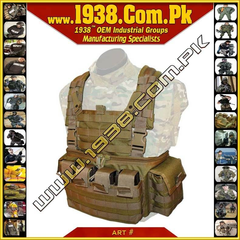 1938@ Tactical Modular Vehicle Operators Chest Rig - {Made -To- Order} - Police Gloves - Tactical Gloves - Military Gloves