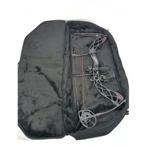 Ouliangjia Black Semi-rigid Compound Bow Case and Archery bag and Hunting Compound Bow
