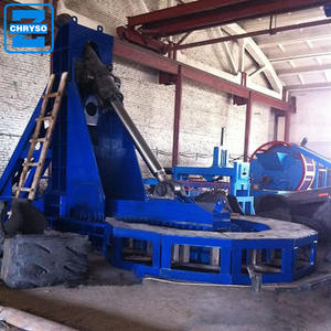 OTR tire recycling factory | OTR used tire cutting circle machine for sale