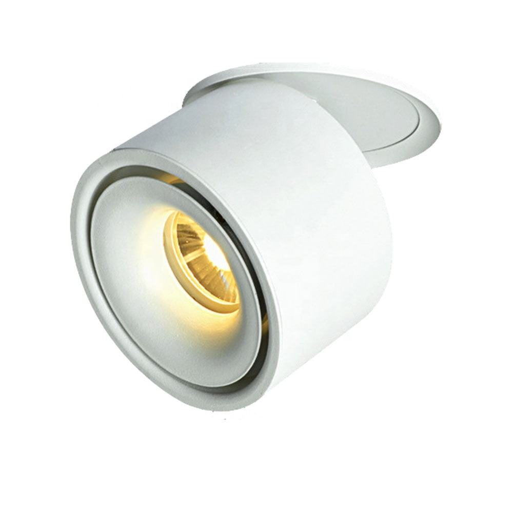 360 degree 20w folded surface mounted dimmable led ceiling down light