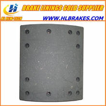 brake repair kit brake lining with rivets 19365 FT/14/1