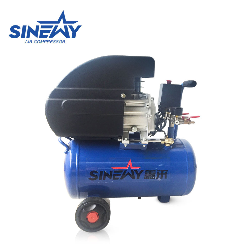Professional factory cheap mobile direct driven mini air compressor 220v