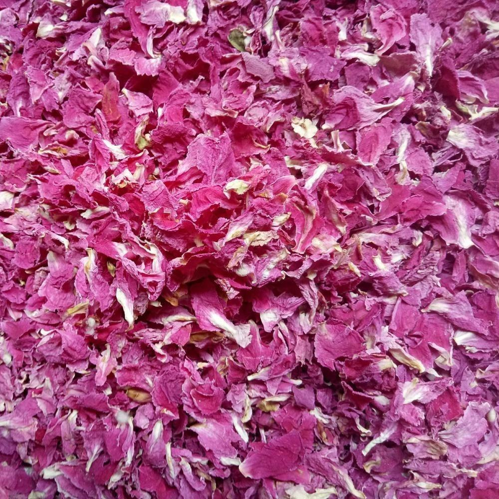 Bulk supply Scented tea dried Herbaceous peony flower petals red color new and clean
