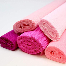 Color Crepe Paper  For Gift  Wrapping
