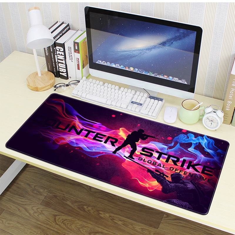 Hot sale custom extended non-slip sublimation gaming mouse pad gaming for gamer