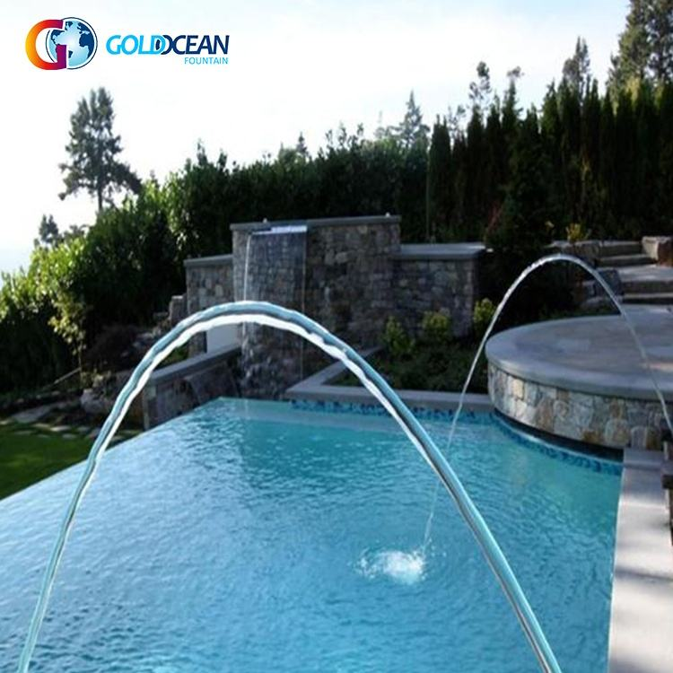 FREE DESIGN Park Hotel Colorful Pool Laminar Jumping Jet Fountain
