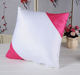 40*40CM DIY Diagonal Double-side Pillow Case Cover Polyester Sublimation Pillow Case Blank sublimation cushion cover