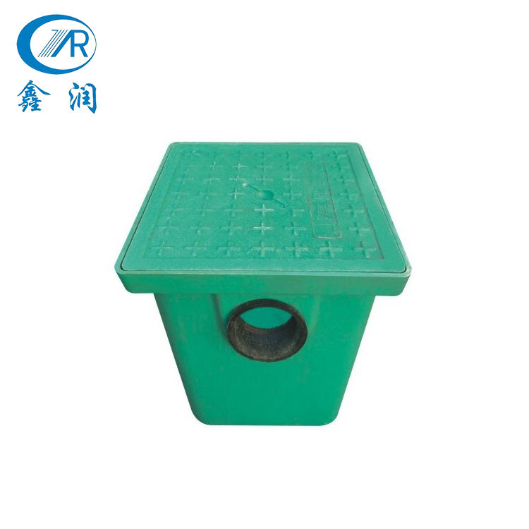High grade road plastic box water meter box size