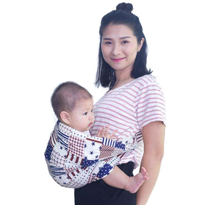 Être modélisée sur l'utérus Confortable et Respirable Réglable Couverture D'allaitement Bébé endormi Wrap Sling