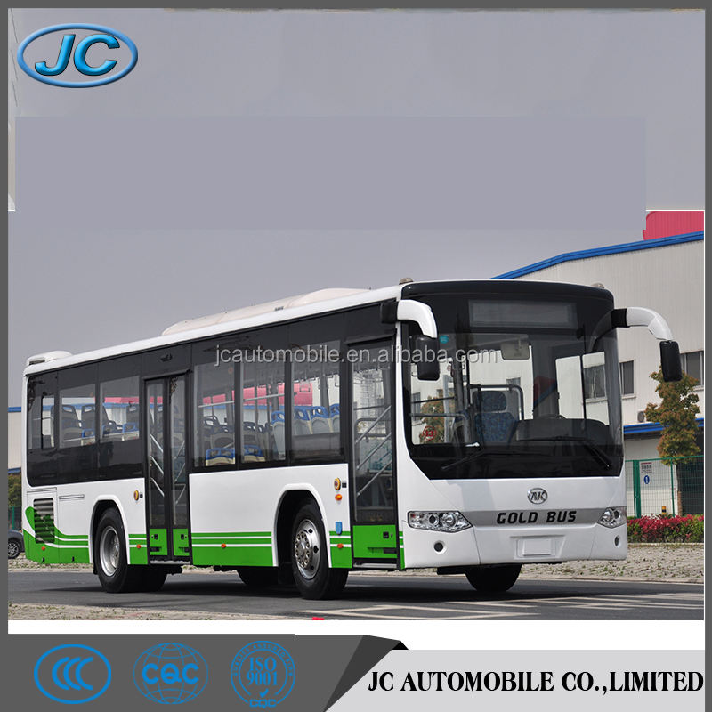 Best selling JAC LHD 80 passenger inner city bus for sale