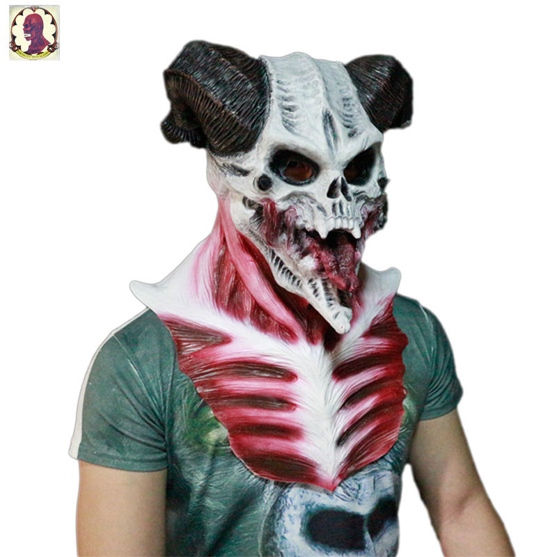 Best Selling Product Monster Full Head Latex Mask Product Halloween Mask Supply China Supplier