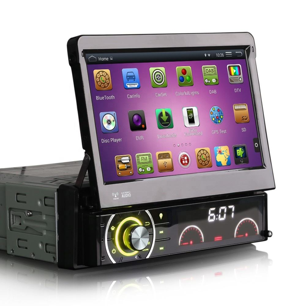 "Erisin ES3090A 7 ""Android 4.4.4 Đơn Din Car DVD GPS Player BT USB"