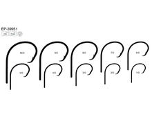 High carbon steel/SS fishing hook EP-39951 Circle Hooks