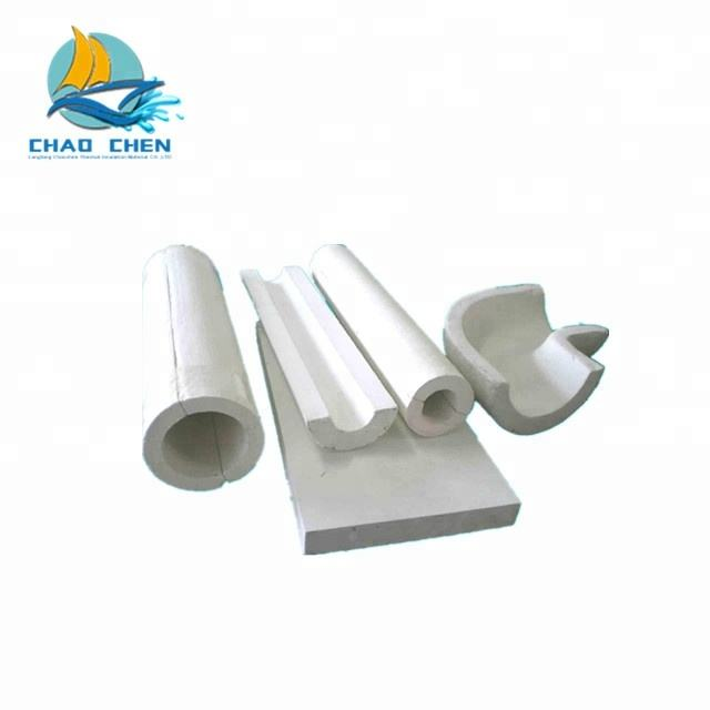 50mm thickness calcium silicate pipe for wall insulation
