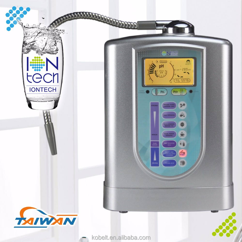 IT-636 Iontech alkaline mineral water ionizer for stainless steel water purifier