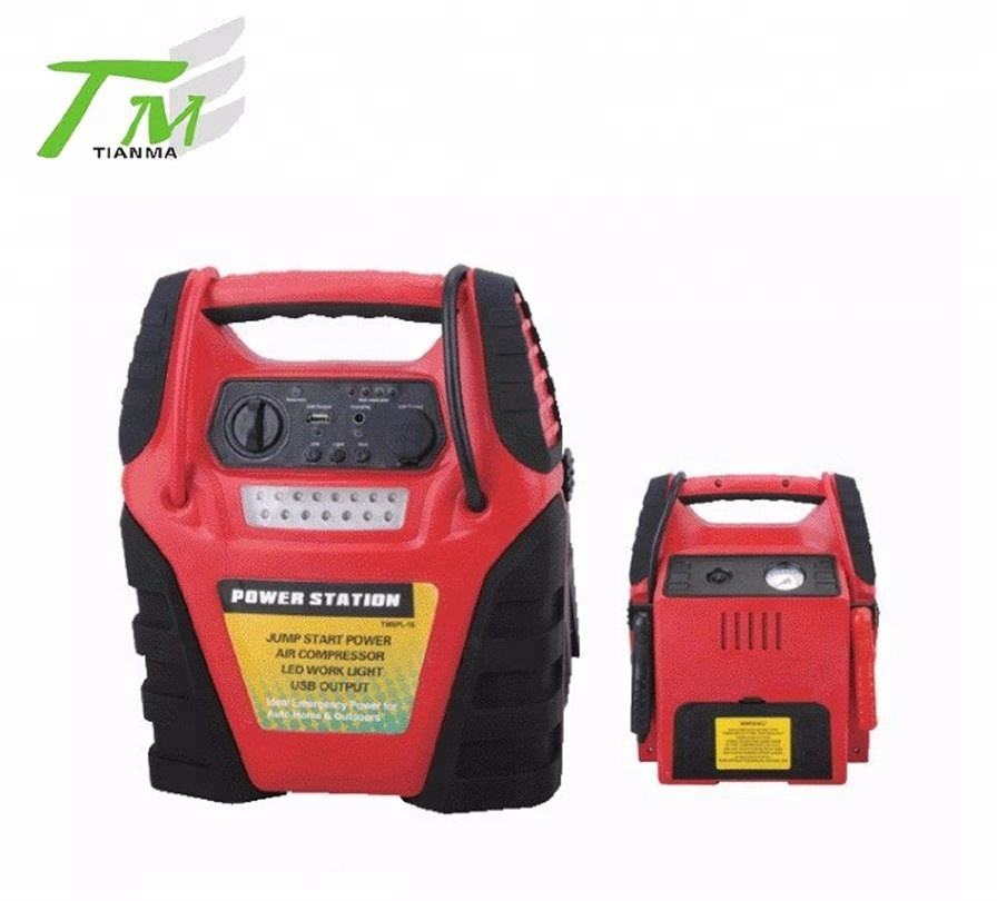 Popular power station with large battery capacity 17AH car jump start 12V jump starter