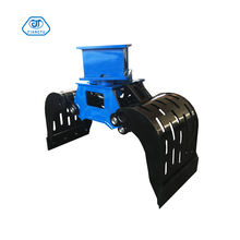 ZX 200 Excavator hydraulic hard-wearing  rotating high strength M+S motor sorting grapples