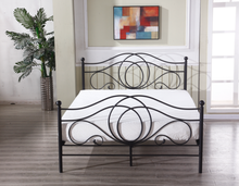 Germany style metal bed king size metal bed for bedroom furniture