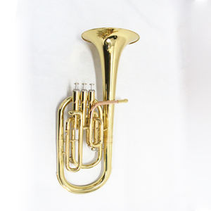 Alto Horn brass wind musical instrument