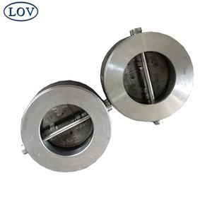 Food Grade Wafer Lift Check Valve 150 LB Non Return Dual Plate Non Slam Chinese Suppliers Price