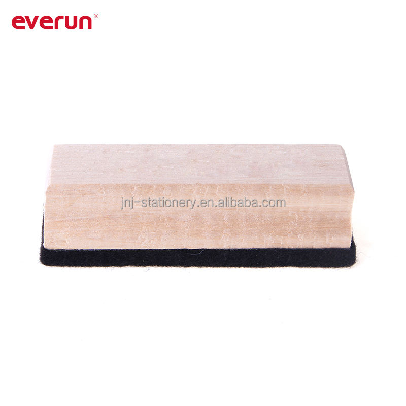 Hot sale Wooden Blackboard eraser chalkboard eraser whiteboard eraser