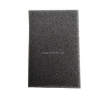 40 PPI Black Flexible Reticulated Acoustically Transparent Polyurethane PU Air Filter Dustproof Foam