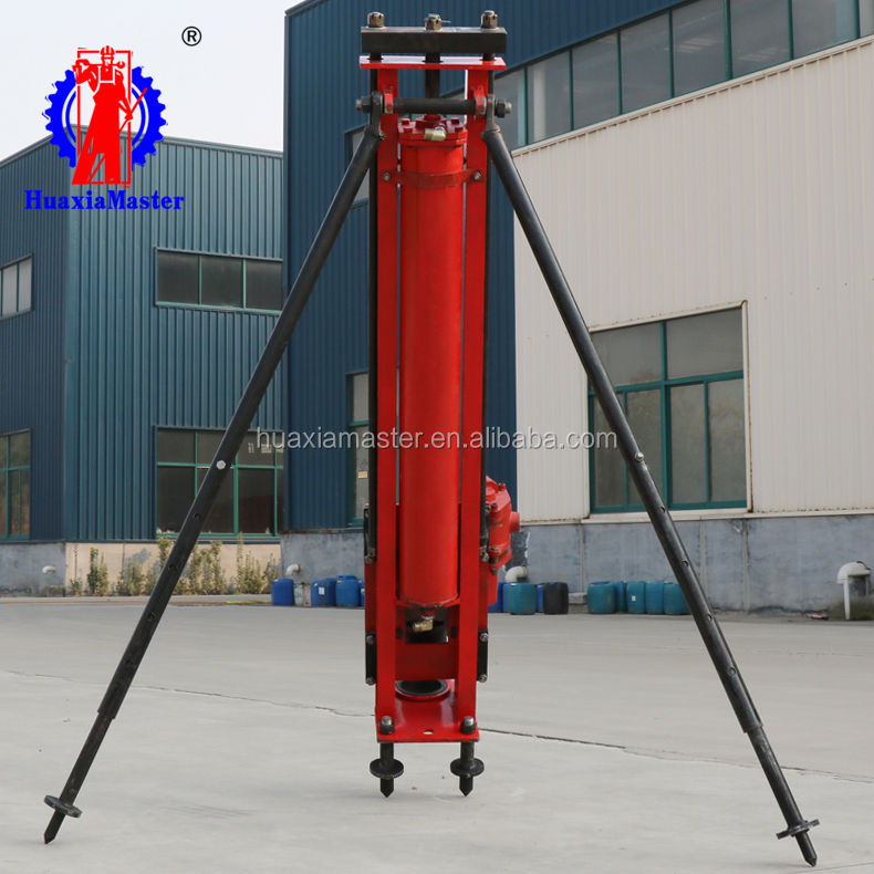 KQZ-100 full pneumatic DTH Drill pneumatic rock drill rig top quality