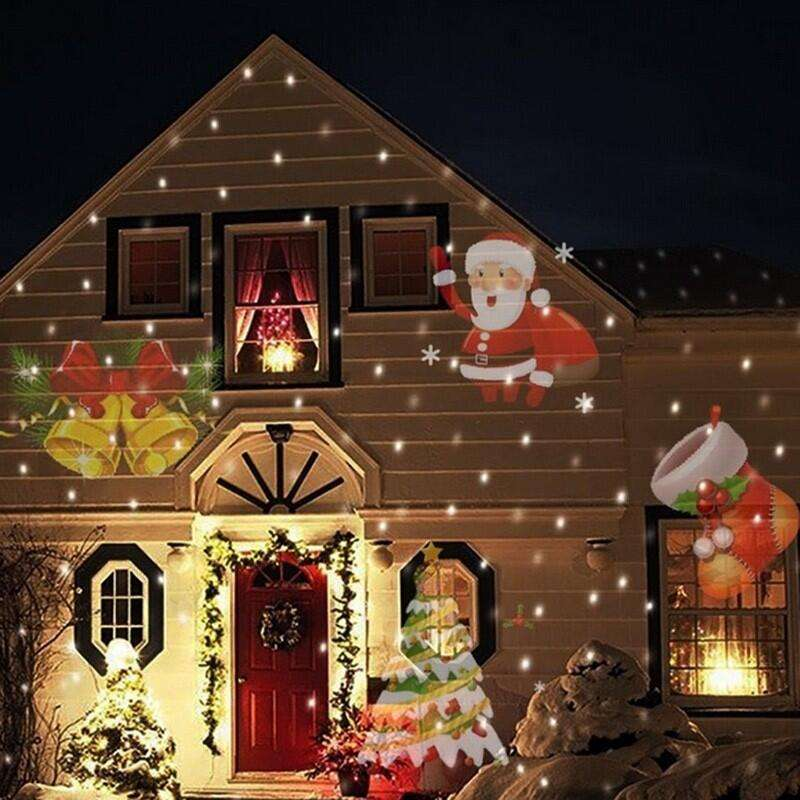 Outdoor Holiday Projector led light 12 Pictures laser light projector christmas,Halloween ,Easter,New year etc Holiday