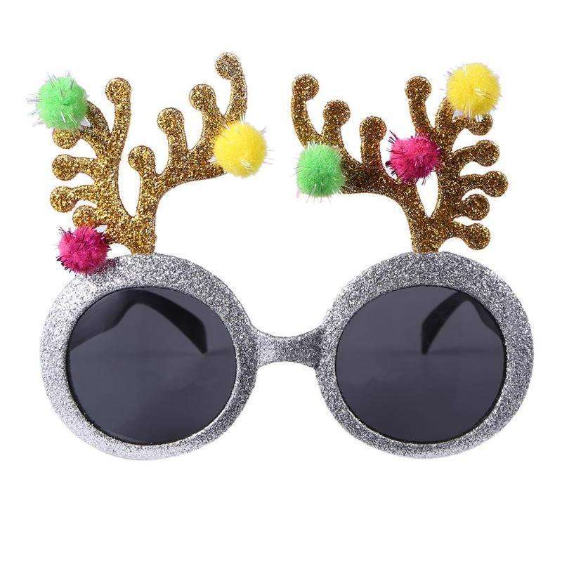 Crown Sunglasses Glitter Queen Gold Silver Halloween Princess AM658