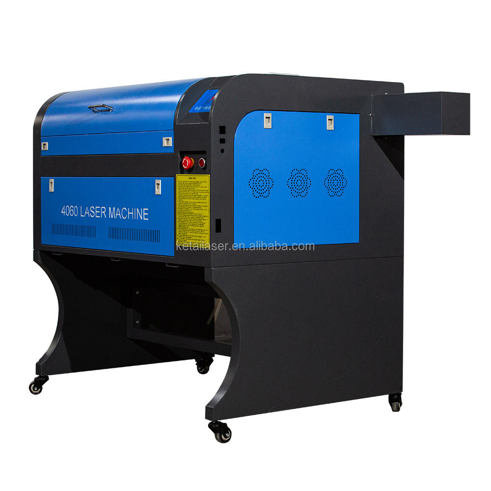 portable 100 watts small 6040 co2 laser cutter for nonmetal material